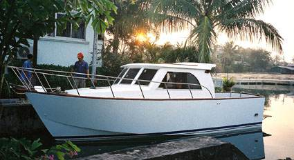 TRAILERABLE boat plans, BRUCE ROBERTS OFFICIAL WEB SITE boat building, boatbuilding, steel boat ...