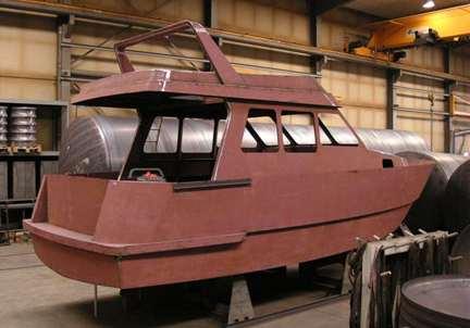 Euro 1000 10m STEEL KITS POWER, boat building, boatbuilding, boat plans, boatplans, steel kits ...