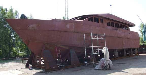 Steel boat building kits | Wilson