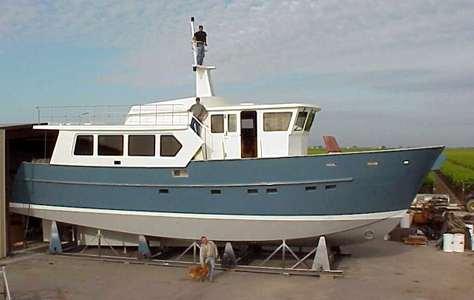 Steel Trawler construction, steel boat plans, boat building, boatbuilding, steel boat kits