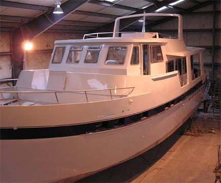 trawler yacht 57 trawler passagemakers live aboard steel or aluminum