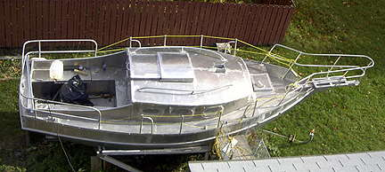 SPRAY 22, boat plans, boat building, boatbuilding, steel boat kits, boat kits