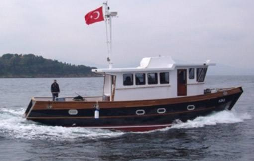 Bruce roberts steel boat plans boat building for Garden design trawler boat