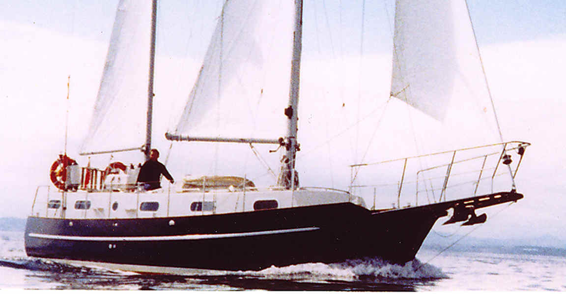 Boat plan Centennial Spray 36 steel wood