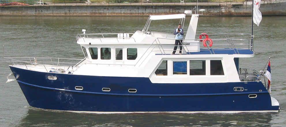 TRAWLER YACHT 48, trawlers, passagemakers, live-aboard ...