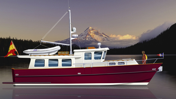 TRAWLER YACHTS, trawlers, passagemakers, liveaboard trawlers,steel boat kits,plans, steel kits