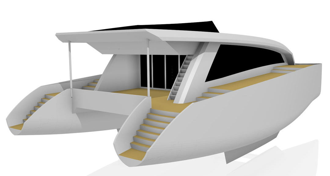 Catamaran boat plans power cat 60 aluminum new euro cat 1900 2400 aluminum or fiberglass sail power versions available sciox Image collections
