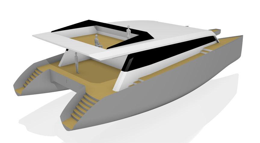 Bruce Roberts Catamaran Boat Plans Catamaran Boat Building