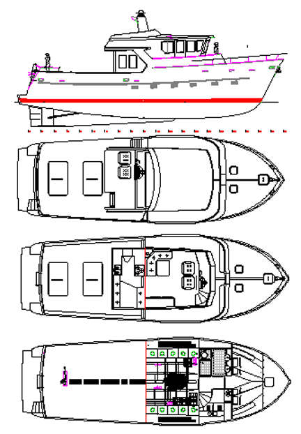 ... passagemakers, liveaboard trawlers,steel boat kits,plans, steel kits