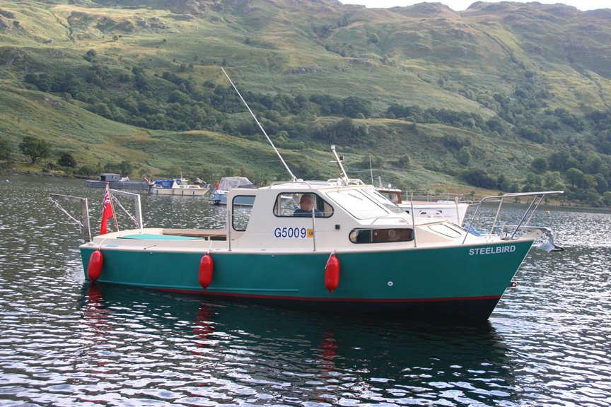 Steel power boat plans free