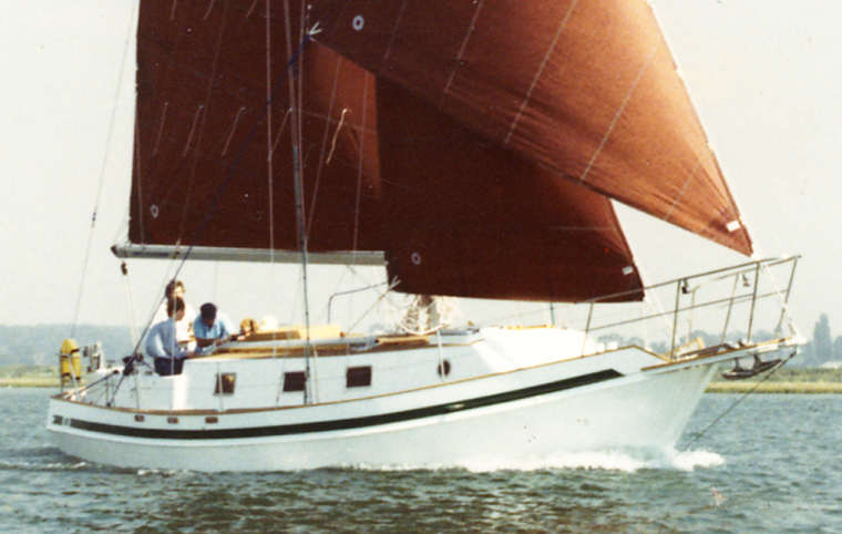 SPRAY 370A, Bruce Roberts, steel boat kits, boat building ...