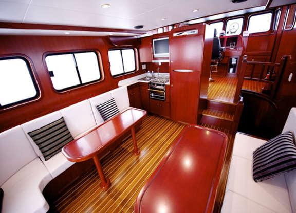 TRAWLER YACHT 43, trawlers, passagemakers, liveaboard ...