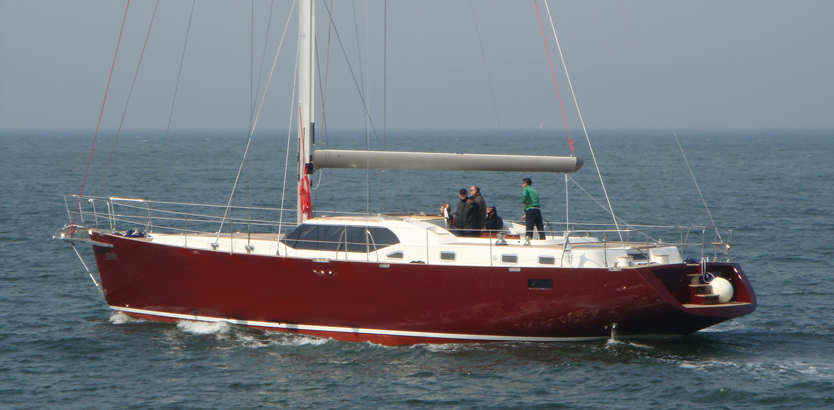 strip plank composite building sailboat catamaran