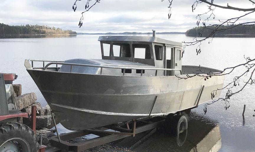 Bruce Roberts, steel boat plans, boat building ...