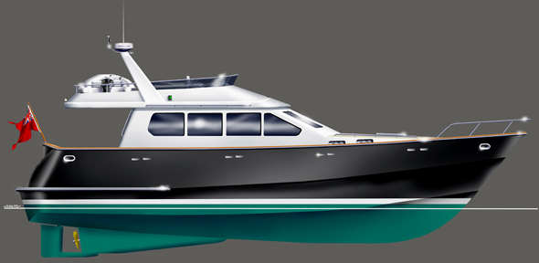 Euro 14 Power Boat Building Kits Cutting Files Steel And