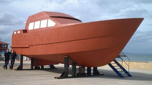 Bruce Roberts, steel boat plans, boat building, boatbuilding, steel ...