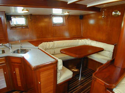 BOAT INTERIORS, Bruce Roberts, steel boat plans, boat building, boatbuilding, steel boat kits ...