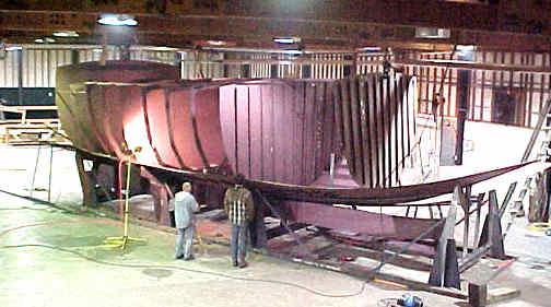 Spray 52 STEEL KITS, boat plans, boat building, boatbuilding, steel ...